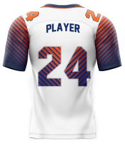 Flag Football Jersey Sublimated Parallel Back