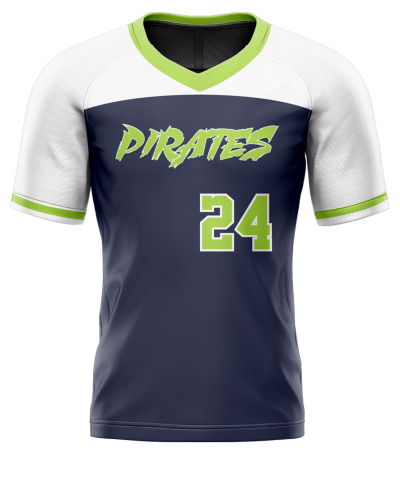 Flag Football Jersey Sublimated Pirates