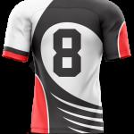 Flag Football Jersey Sublimated Razor Back