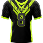 Flag Football Jersey Sublimated Snake