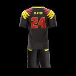 Flag Football Uniform Sublimated Eagles Back