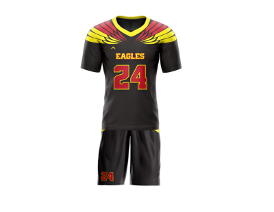 Flag Football Uniform Sublimated Eagles Front