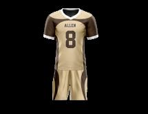 Flag Football Uniform Sublimated Front