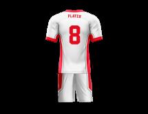 Flag Football Uniform Sublimated Knights Back