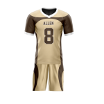 Flag Football Uniform Sublimated Mountains Front