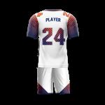 Flag Football Uniform Sublimated Parallel Back
