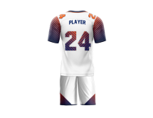Flag Football Uniform Sublimated Parallel Back