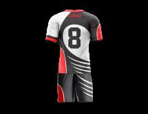 Flag Football Uniform Sublimated Razor Back