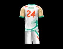 Flag Football Uniform Sublimated Riptide Back