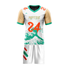 Flag Football Uniform Sublimated Riptide Front