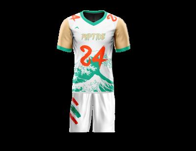 Flag Football Uniform Sublimated Riptide Front