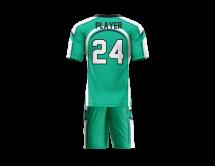 Flag Football Uniform Sublimated Sharks Back
