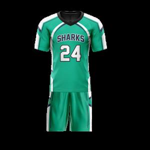 Image for Flag Football Uniform Sublimated Sharks