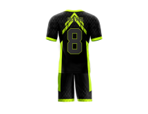 Flag Football Uniform Sublimated Snake Back