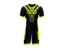 Flag Football Uniform Sublimated Snake Front