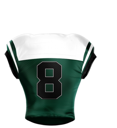 Football Jersey Sublimated 501 Back