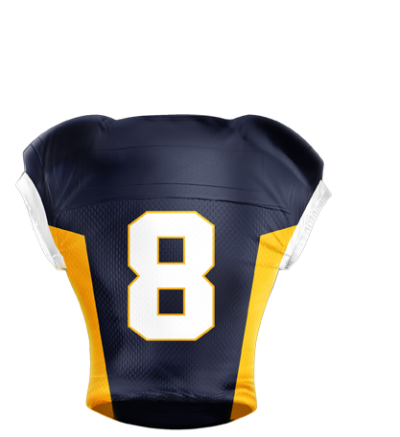 Football Jersey Sublimated 502 Back