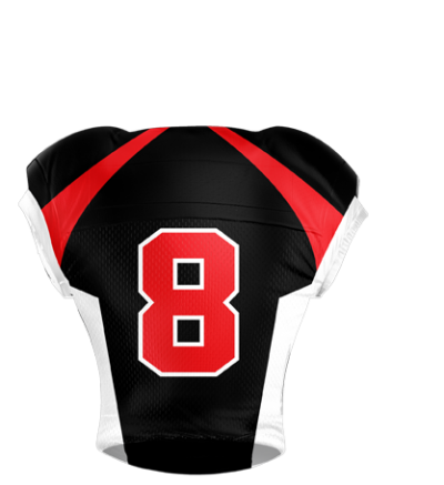 Football Jersey Sublimated 503 Back