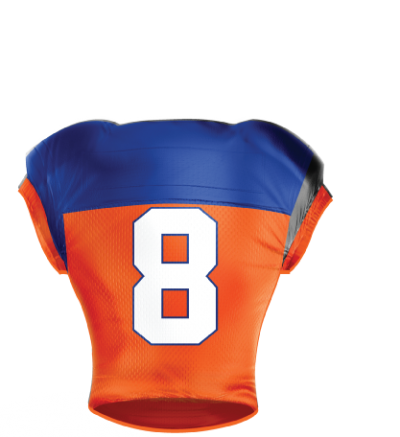 Football Jersey Sublimated 507 Back