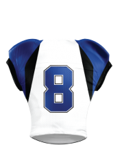 Football Jersey Sublimated 509 Back