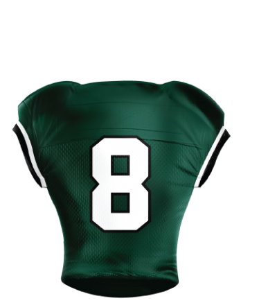 Football Jersey Sublimated 510 Back