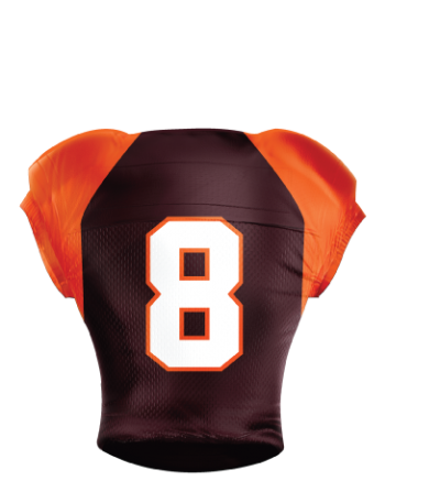 Football Jersey Sublimated 511 Back