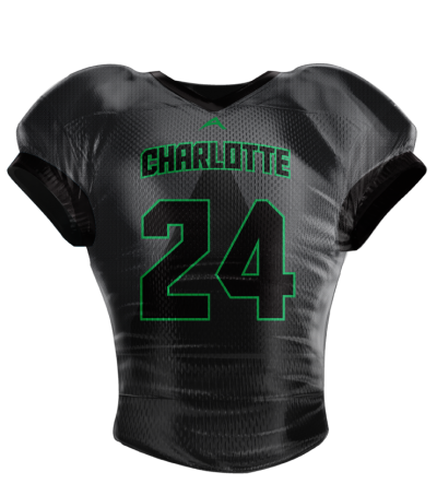 Football Jersey Sublimated Charlotte