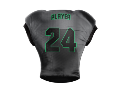 Football Jersey Sublimated Charlotte Back