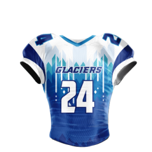 Image for Football Jersey Sublimated Glaciers