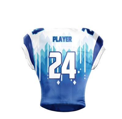Football Jersey Sublimated Glaciers Back
