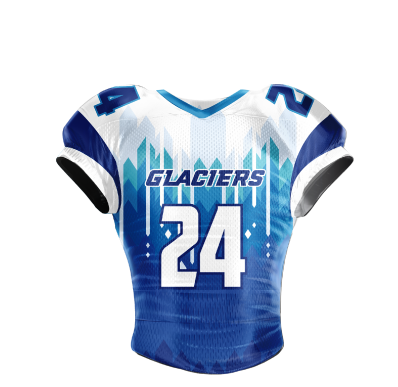 Football Jersey Sublimated Glaciers
