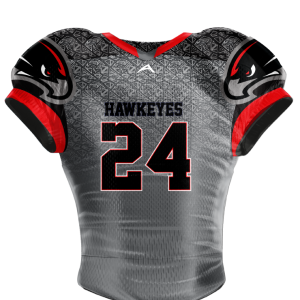 Image for Football Jersey Sublimated Hawkeyes