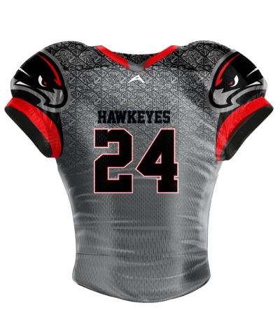 Football Jersey Sublimated Hawkeyes