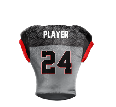 Football Jersey Sublimated Hawkeyes Back