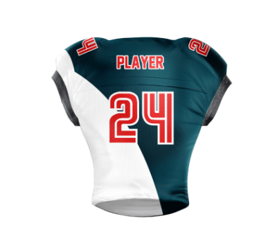 Football Jersey Sublimated Knights Back