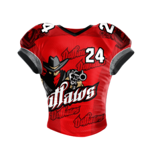 Image for Football Jersey Sublimated Outlaws