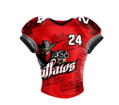 Football Jersey Sublimated Outlaw
