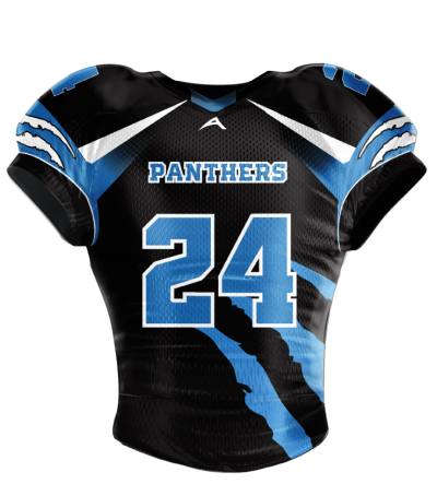Football Jersey Sublimated Panthers