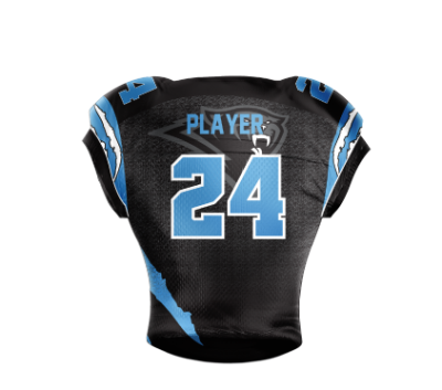 Football Jersey Sublimated Panthers Back