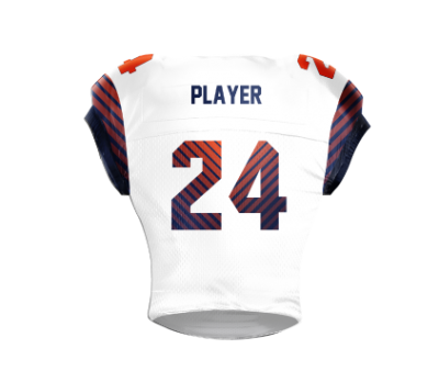Football Jersey Sublimated Parallel Back