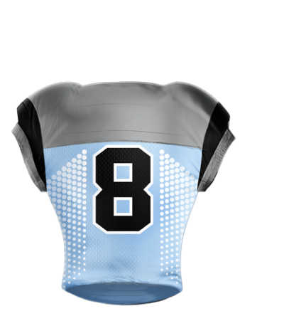 Football Jersey Sublimated Pearl Back