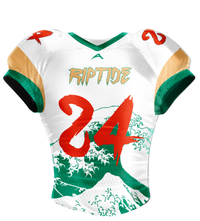 Football Jersey Sublimated Riptide