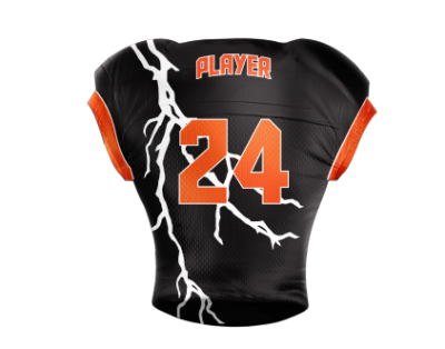 Football Jersey Sublimated Storm Back