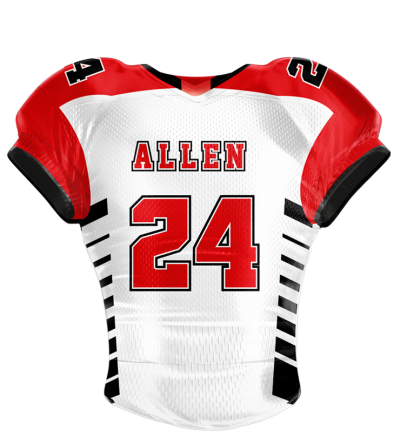 Football Jersey Sublimated Tiger
