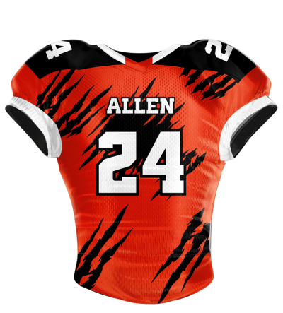 Football Jersey Sublimated Torn Apart