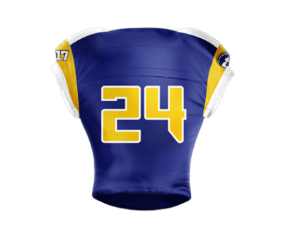 Football Jersey Sublimated Wolfpack Back