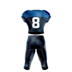 Football Uniform Sublimated 208 Back