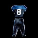 Football Uniform Sublimated 208 Back