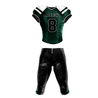 Football Uniform Sublimated 501