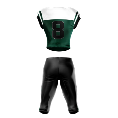 Football Uniform Sublimated 501 Back